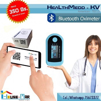 Oxímetro con Bluetooth